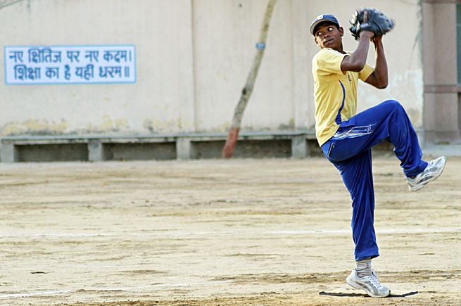There may yet be a player in India who will become the first from that nation to reach the majors.