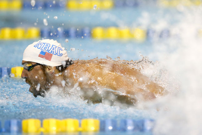 Michael Phelps' victory puts the gold medalist one step closer to the Rio Olympics in 2016.
