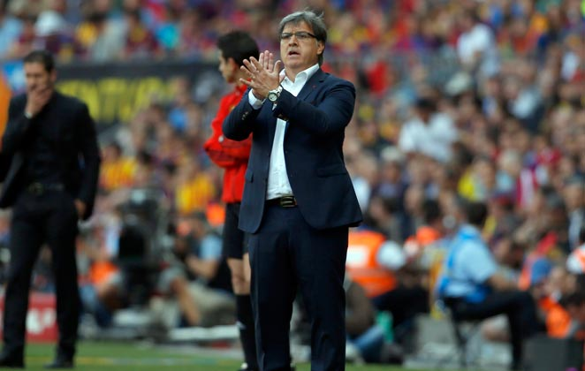 Tata Martino announced he would be leaving Barcelona after one year as its head coach.