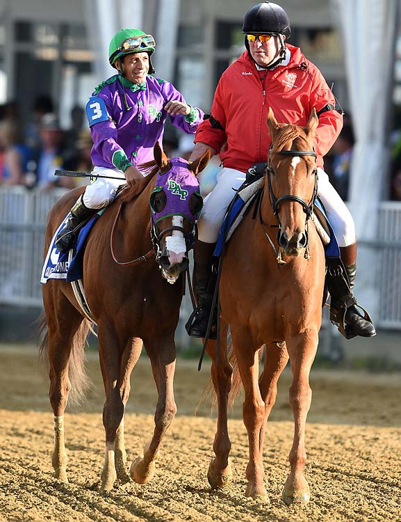California Chrome's winning time of 1:54.84 was the fastest at the Preakness in seven years.