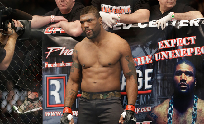 Rampage Jackson's pre-fight smack-talk with 'King Mo' Lawal continued after his narrow victory.