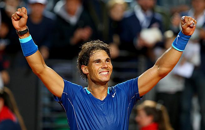 Rafael Nadal had no issues dropping Grigor Dimitrov 6-2, 6-2 in the Italian Open semifinals.
