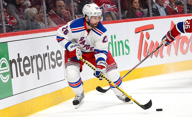 Martin St. Louis has become an emotional rallying point for the New York Rangers' playoff run.