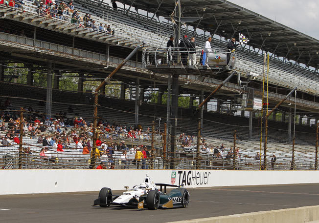 Ed Carpenter became the 11th driver in history to win the Indy 500 pole in consecutive years.