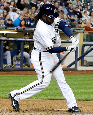Rickie Weeks has played just 30 games this year, but he's hitting .351 with seven RBI.