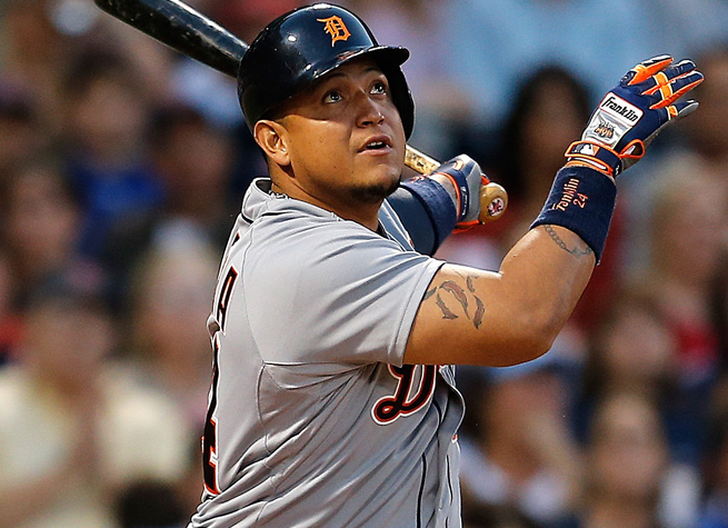 Miguel Cabrera and the Tigers have won 16 of their last 20 games and are in command of the AL Central.