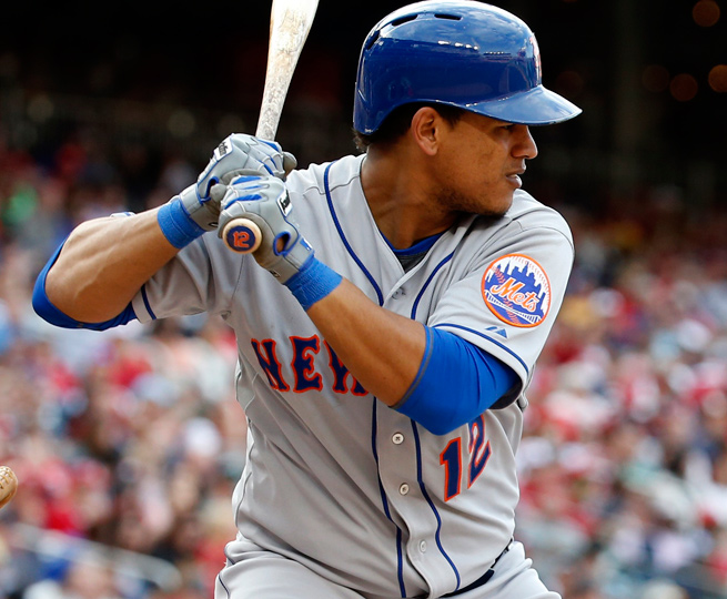 Juan Lagares has seen his playing time fall lately despite a good start to the season offensively.