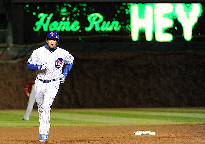 Mike Olt can contribute to a fantasy owner's home run and RBI categories, but not much else.
