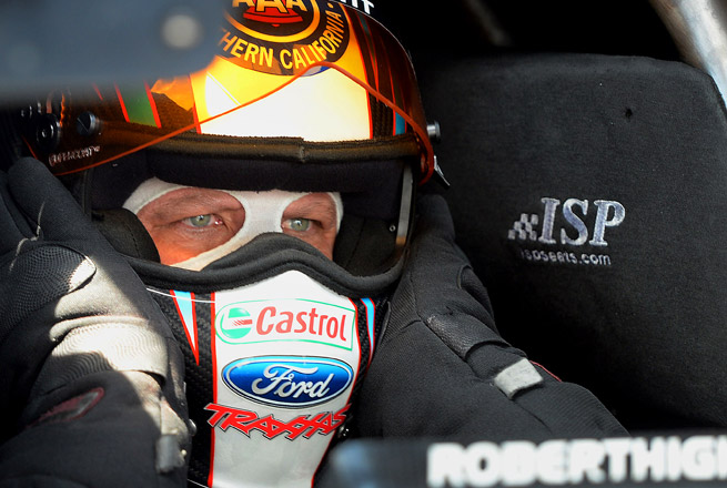 Hight defeated his John Force Racing teammate Courtney Force in a thrilling final at Atlanta Dragway.