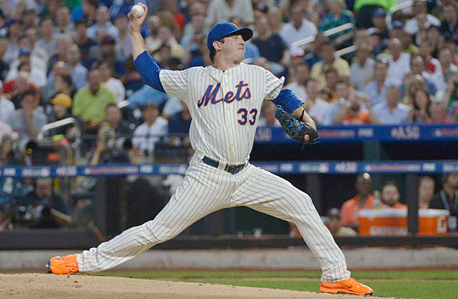 Harvey had Tommy John surgery last October that was expected to cost him all of the 2014 season.