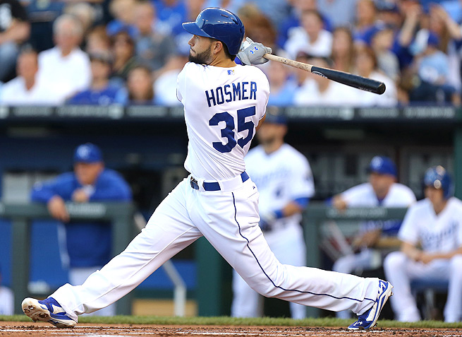 Eric Hosmer has a .292 batting average, but only 19 runs and 21 RBI for the season so far.