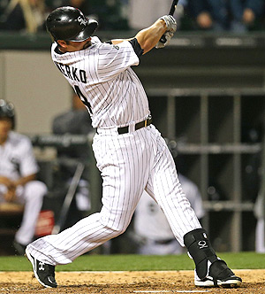 Paul Konerko has been filling in at first base while Jose Abreu is on the DL.