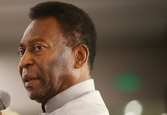 Brazil soccer icon Pele made critical remarks regarding the country's spending and organization ahead of this summer's World Cup.