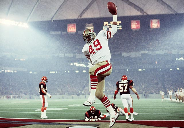 The first cold-weather Super Bowl -- on Jan. 24, 1982 -- was terrific theater for at-home fans as the San Francisco 49ers' 26-21 win over the Cincinnati Bengals drew a record 49.1 Nielsen rating, highest in Super Bowl history. It was far different for fans trying to drive to the game. Pontiac's distance from Detroit (about 30 miles), icy roads and Vice President George H.W. Bush's motorcade created a series of traffic jams that caused many fans to miss the opening kickoff.