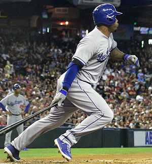Carl Crawford swiped two bags versus the Mets on May 20.