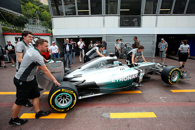 The way Mercedes has dominated F1, Lewis Hamilton's crew could push his ride and he's still win.