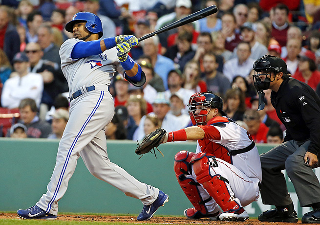 In his last three games, Edwin Encarnacion has exploded, hitting 14-for-15 with five home runs.