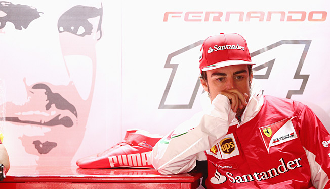 F1 driver Fernando Alonso apparently feels he's not been getting enough support from his team.