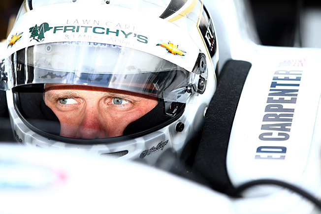 Winning the Indy 500 pole has made life a whirlwind for local favorite Ed Carpenter.