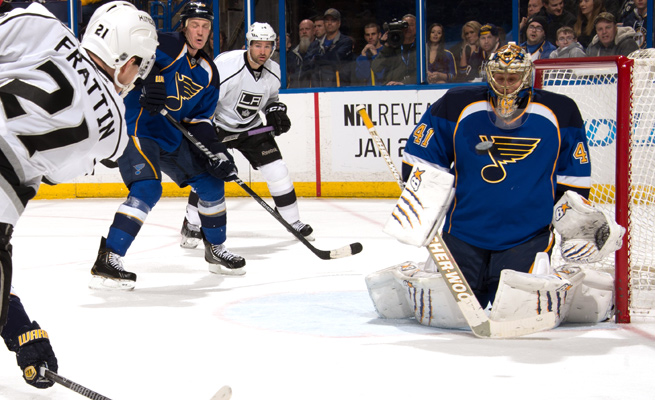 Jaroslav Halak owns a 144-85-29 record over eight NHL seasons with the Canadiens, Blues and Capitals.