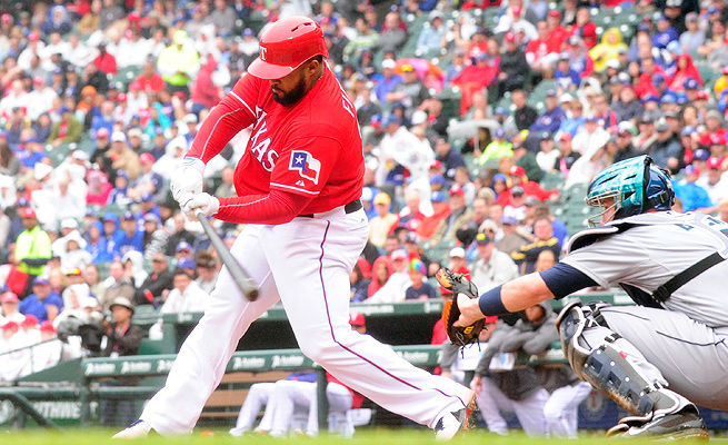 Prince Fielder had three homers and 16 RBI in 42 games, his first season with the Rangers.