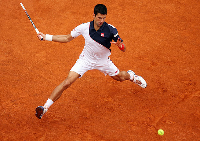 Second-ranked Novak Djokovic needs a French Open title to complete the career Grand Slam.