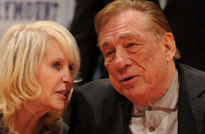 Donald Sterling reportedly wants to concede control of the Clippers so his wife (left) can sell the team.