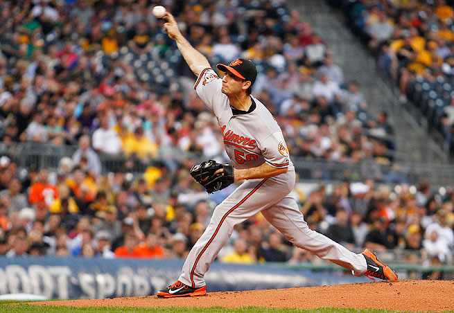 Orioles right-hander Miguel Gonzalez has struck out at least six batters in five of his last seven starts.