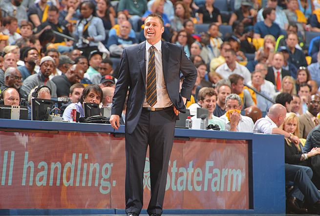 Dave Joerger went 50-32 in his first season as coach of the Grizzlies, leading Memphis to the playoffs.