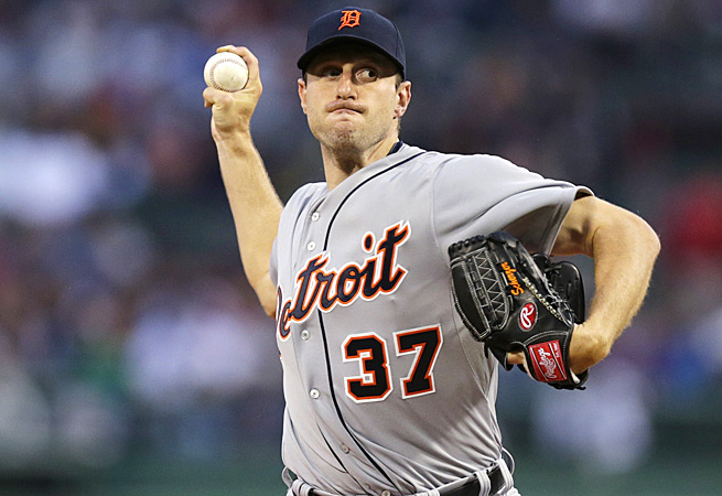 The Detroit Tigers' Max Scherzer headlines a strong list of two-start pitchers for the week of May 26.