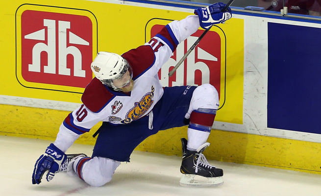 Henrik Samuelsson notched five points in the Memorial Cup title game to lift Edmonton.