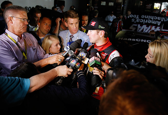 Kurt Busch could not complete 'The Double,' and finish the Indy 500 and Coca-Cola 600 in same day.