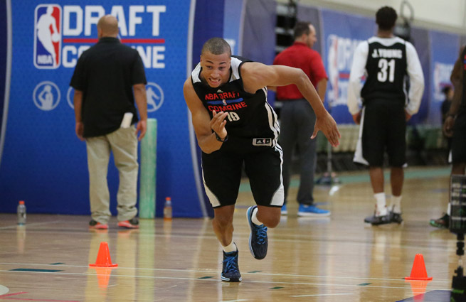 Dante Exum is one of a handful of international prospects poised to go in the first round of the draft.