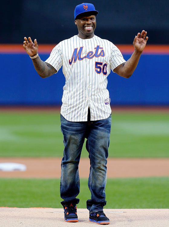 "It's not often that the sports world is in unanimous agreement on something, but that was the case in Queens when 50 Cent threw out one of the worst ceremonial first pitches in baseball history. Everyone from Amy Schumer to our own Jon Wertheim weighed in on the atrocity. 50 Cent tried to justify the pitch later by reminding us that he's ""a huster, not a damn ball player"" but the damage has already been done."