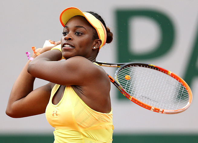 Sloane Stephens had no problems against Polona Hercog in the second round at Roland Garros.