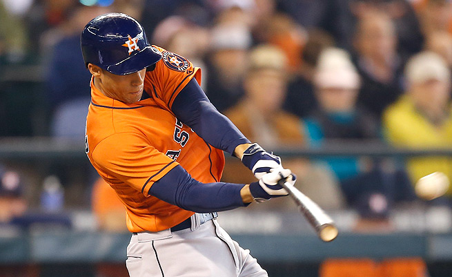 George Springer has finally come out of his shell, hitting five home runs in the last week.