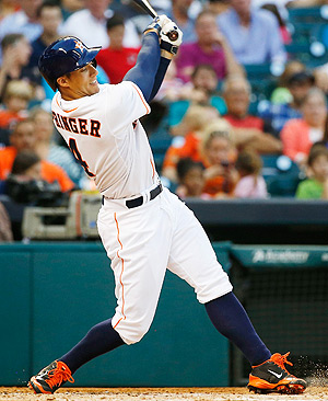 George Springer hit a two-run homer to lift the Astros over the Orioles on Thursday.