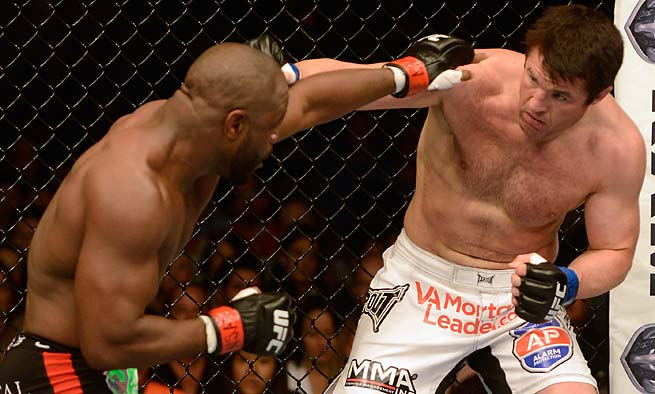 Chael Sonnen, right, has lost three of his past four fights, but could be in line for a title shot.