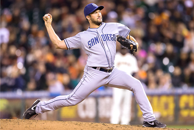 Huston Street has been excelling in the ninth for the Padres, and may be traded before the deadline.