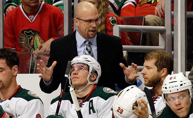 In three seasons with Minnesota, Mike Yeo is 104-82-26 in the regular season and 7-9 in the postseason.