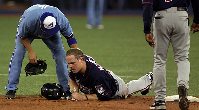 Morneau's troubles began when he suffered a concussion sliding into second base in Toronto in 2010.