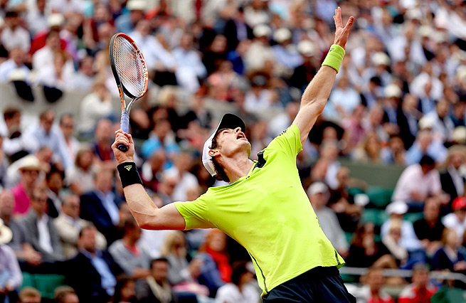 Andy Murray won four straight points in the tiebreaker to win the match against Fernando Verdasco.