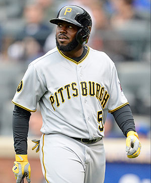 Josh Harrison figures to be the odd man out in Pittsburgh once Gregory Polanco is called up.