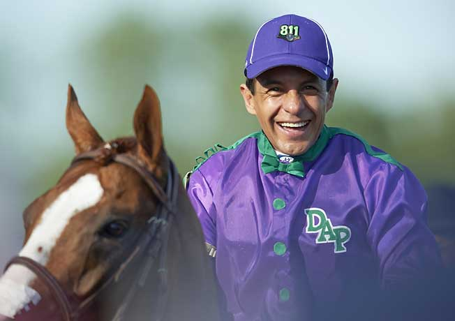 Victor Espinoza, who won the 2002 Derby and Preakness on War Emblem, liked California Chrome.