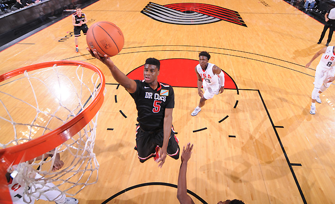 Because he isn't going to a blue-chip school, Emmanuel Mudiay could be the highest-impact recruit of his class.