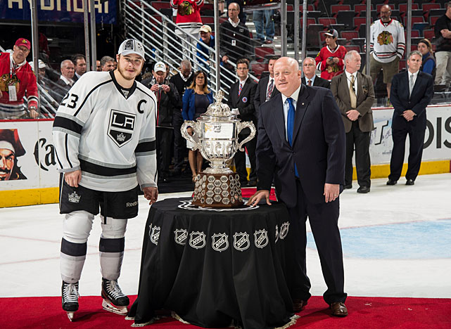 Having secured their second Clarence Campbell Bowl in three seasons, captain Dustin Brown and the Kings set their sights on another Stanley Cup. Standing in their way: King Henrik Lundqvist and the New York Rangers. Though the Kings were considered the favorites to win the series, they were about to take on an inspired and determined foe. <bold>Read Allan Muir's Stanley Cup Final breakdown and prediction</bold>
