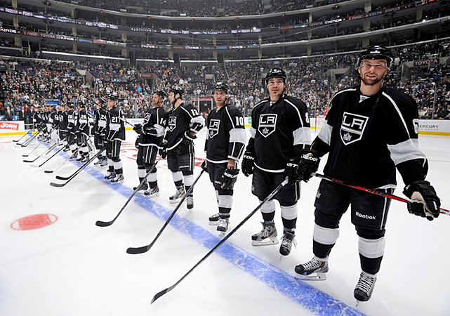After being dethroned as the defending Stanley Cup champions by Chicago in the 2013 Western Conference Finals, the Kings entered the new season with a formidable mix of veteran stars bolstered by a continuing influx of fine young talent. After splitting their first two games on the road, they dropped their home opener to the New York Rangers, 3-1, but otherwise got off to a solid 6-3-0 start.