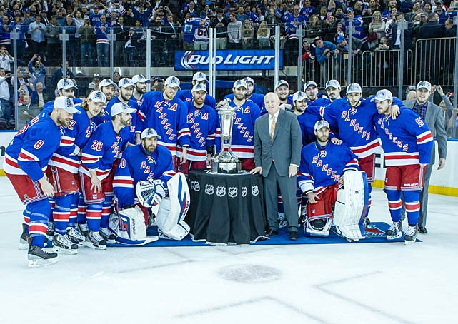 Twenty years after the Rangers made a storied run to the franchise's first Stanley Cup since 1940, a Blueshirts brigade returned to final where it would meet the deep, rugged and talented Kings. Though the underdogs, the Rangers seemed to have a touch of magic working for them, like the Mark Messier-led crew had in 1994. <bold>Read Allan Muir's Stanley Cup Final breakdown.</bold>