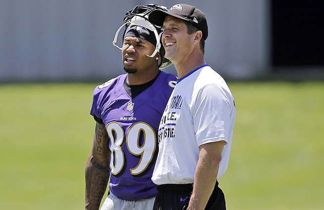 Steve Smith (left) owns every major receiving record in Carolina Panthers franchise history.