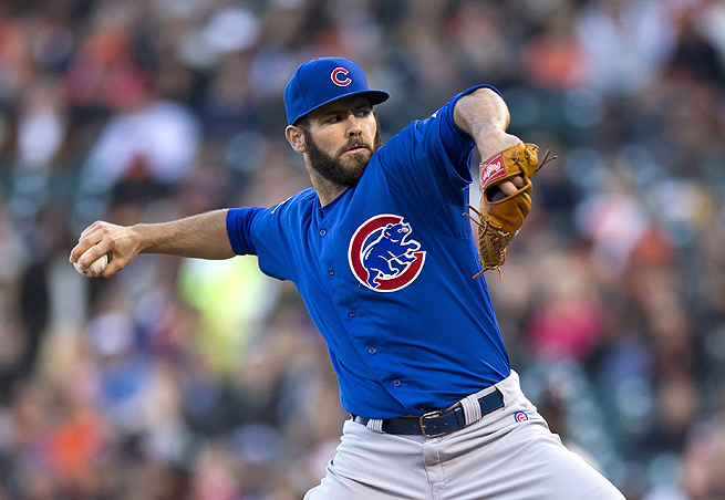 Jake Arrieta could reap dividends for strikeout-thirsty owners against the Miami Marlins on Sunday.